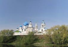 Residenza del principe Andrei Bogolyubsky, Russia Fotografie Stock Libere da Diritti
