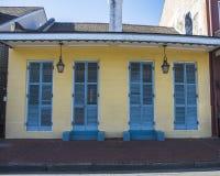 Residenza del quartiere francese Immagine Stock
