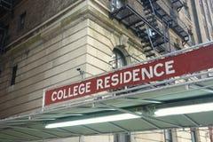 Residenza dell'istituto universitario immagini stock libere da diritti