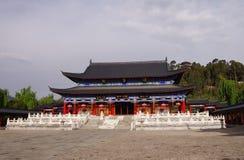 Residenza della MU, città della Cina - Lijiang Fotografia Stock Libera da Diritti