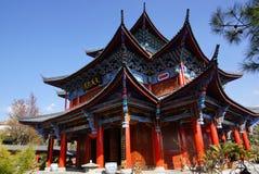 Residenza della MU nella vecchia città di Lijiang, il Yunnan, Cina Fotografia Stock