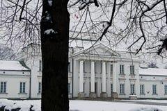 Residenza di Belweder del presidente della Polonia Fotografia Stock