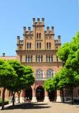 Residenza di Bukovinian e Metropolitans dalmata, ora parte dell'università di Cernivci fotografia stock