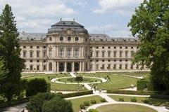 Residenza di Wurzburg Immagini Stock Libere da Diritti
