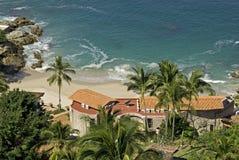 Residenza fronta dell'Oceano Pacifico fotografia stock libera da diritti