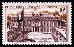 Residenza principale del presidente della Francia Elysee Palace a Parigi, circa 1957 Fotografia Stock