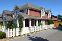 Residenza a Richmond BC Canada. immagini stock