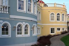 Residenza romantica Immagini Stock