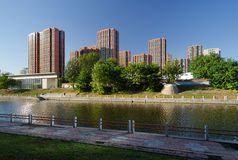 Residenze dell'alloggiamento a Pechino Immagini Stock