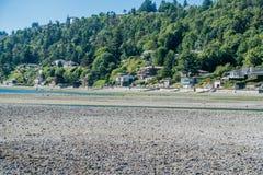 Residenze di Shoreline Fotografia Stock