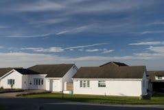 Residenze in Llandudno. Il Galles Fotografia Stock Libera da Diritti