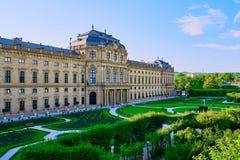 Residenzen av Wurzburg, Tyskland Royaltyfri Foto