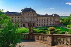 Residenzen av Wurzburg, Tyskland Arkivbilder