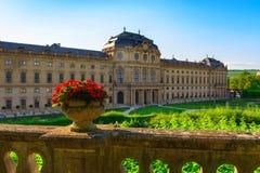 Residenzen av Wurzburg, Tyskland Royaltyfri Bild