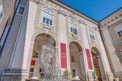 Residenzgalerie wihtin the Residenz palace at Salzburg, Austria Stock Photography