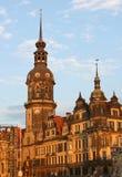 Residenzschloss in Dresden,Saxony,Germany Royalty Free Stock Photo