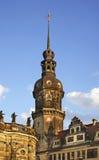 Residenzschloss (Royal Palace) i Dresden germany Arkivbilder