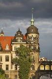 Residenzschloss (Royal Palace) i Dresden germany Arkivfoton