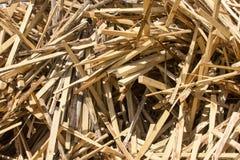 Residui sparsi dei bordi Fotografia Stock