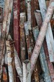 Residuo di ferro Fotografia Stock Libera da Diritti