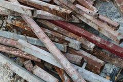 Residuo di ferro Fotografie Stock Libere da Diritti