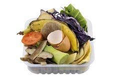 Residuos orgánicos de la cocina Foto de archivo