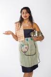 Resignerad indisk kock arkivbilder