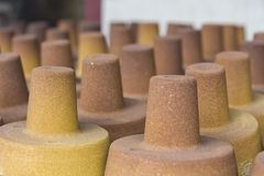 Resin Coated Sand products Royalty Free Stock Photo
