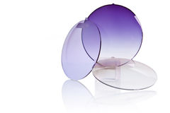 Resin glass for spectacles Stock Images