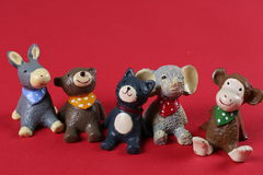 Resin toys Royalty Free Stock Image