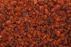 Resina (lavata) trattata naturale organica della bacca della gomma Immagine Stock Libera da Diritti