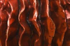 Resina rossa Fotografie Stock Libere da Diritti