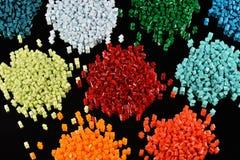 Resina tingida do polímero Fotografia de Stock