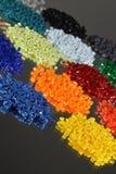 Resina tingida do polímero Imagens de Stock