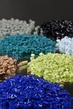 Resina tingida do polímero Fotografia de Stock Royalty Free