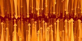 Resistência da seta das estatísticas Imagem de Stock Royalty Free