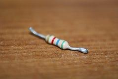 Resistência eletrônica - resistor Foto de Stock