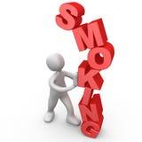 Resista fumar ilustração stock
