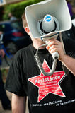 Resistance activist Stock Images