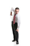 Resistance Band Stretching Royalty Free Stock Photo