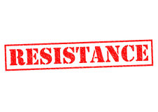 RESISTANCE Royalty Free Stock Images