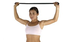Resistance Training Royalty Free Stock Images