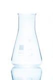 Resistent flaska för tom konisk temperatur Royaltyfria Foton