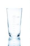 Resistent konisk dryckeskärl för temperatur för mätningar 100ml Fotografering för Bildbyråer