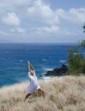 Resistenza e yoga calma Fotografia Stock