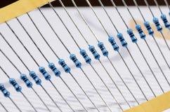 Resistor. S stripe  on white Stock Photos