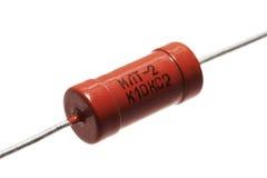 Resistor alaranjado fotografia de stock royalty free