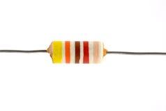 Resistor da eletrônica do vintage fotos de stock