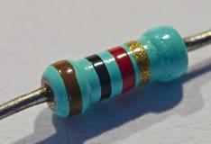 Resistor da parte eletrônica foto de stock