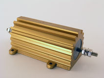 Resistore di energia elettrica Immagine Stock